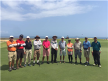 Welcome Malaysia group to enjoy golf in Nha Trang, Vietnam.