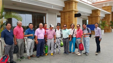 Golf Tour in Ho Chi Minh 13-17/08/17