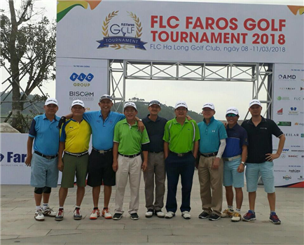 Singapore golfer went along with FLC Faros Golf Tournament 2018 at FLC Ha Long Golf Club.