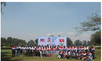 """ Emotion spilled over after KGNS GOLF TOURNAMENTS  2018 "" Vietnam and Malaysia"