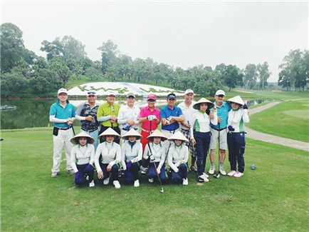 A Wonderful Hanoi Golf trip and our nice Malaysia Guests, August 2017
